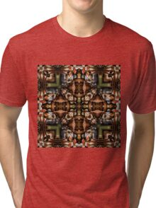 Crocodiles Toadstools and Cats Tri-blend T-Shirt