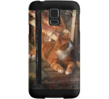 thomas in the greenhouse Samsung Galaxy Case/Skin