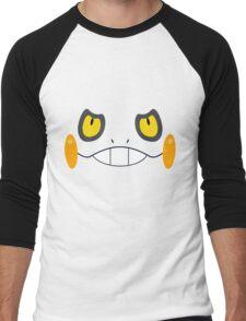 Pokemon - Croagunk / Gureggru Men's Baseball ¾ T-Shirt