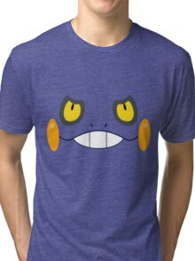 Pokemon - Croagunk / Gureggru Tri-blend T-Shirt