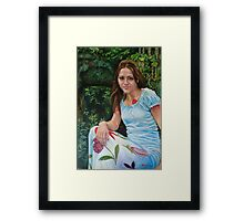 Pascale Framed Print