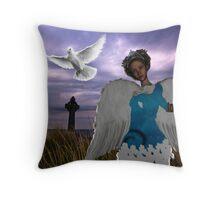 Celtic Peace Throw Pillow