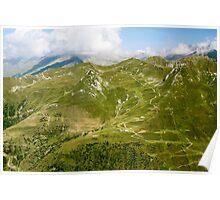 mountain path Poster
