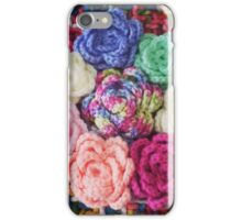 Crocheted Roses iPhone Case/Skin