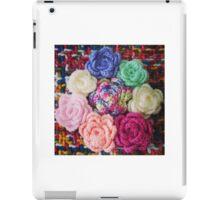 Crocheted Roses iPad Case/Skin