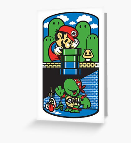 Help a Brother Out Greeting Card