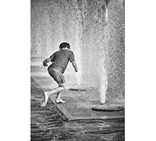 Wet Fun Photographic Print