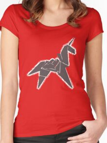 Blade Runner Unicorn Women's Fitted Scoop T-Shirt