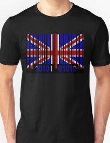 UK Barcode Flag  Unisex T-Shirt