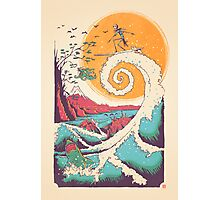 Surf Before Christmas Photographic Print