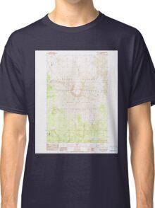 USGS Topo Map Washington State WA Mount St Helens 242550 1983 24000 Classic T-Shirt
