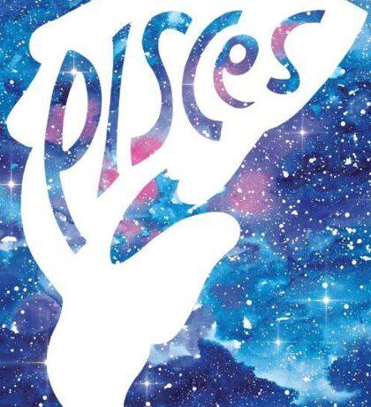 Pisces Zodiac Sign Sticker Sticker