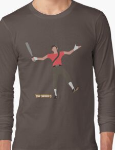 Team Fortress 2 | Minimalist Scout Long Sleeve T-Shirt