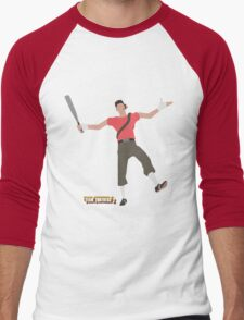 Team Fortress 2   Minimalist Scout Men's Baseball ¾ T-Shirt