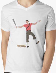 Team Fortress 2   Minimalist Scout Mens V-Neck T-Shirt