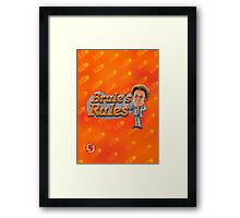 Brule's Rules - For Your Health Framed Print