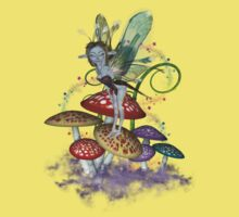 Mushroom Fairy .. T-shirt by LoneAngel