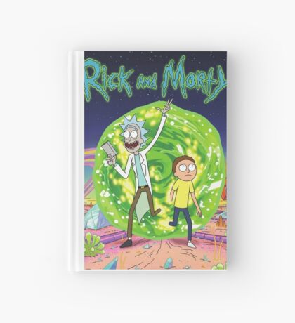 Rick and Morty Tv Series Hardcover Journal