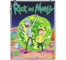 Rick and Morty Tv Series iPad Case/Skin
