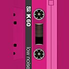 Pink cassette by GraceMostrens