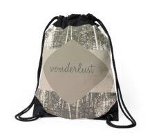 Wonderlust Drawstring Bag