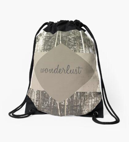 Wonderlust Drawstring Bag