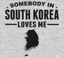 Somebody In South Korea Loves Me Kids Tee