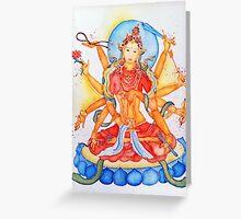 Gold Tara Greeting Card