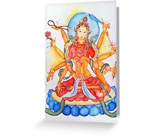 Gold Tara Greeting Card
