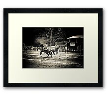 Cowgirl Children Framed Print