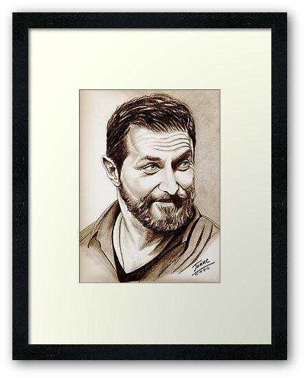 Richard Armitage, shining, sepia by jos2507