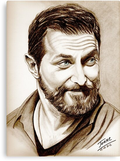 Richard Armitage, shining, sepia by jos2507