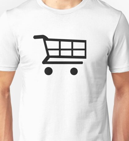E-Commerce Shopping Cart Unisex T-Shirt