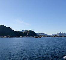 Leaving the Lofoten Islands by boydhowell