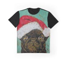 Santa Pug Graphic T-Shirt