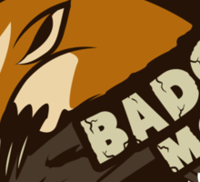 Team Badger Mole Sticker