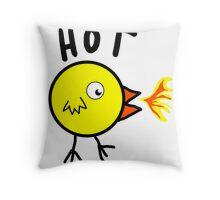 Hot Chick Throw Pillow