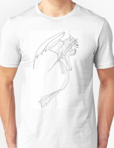 Toothless - Continuous Fine Line T-Shirt