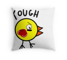 Tough Chick Throw Pillow