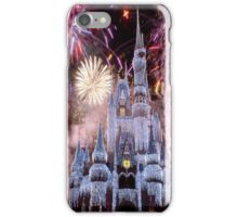 Beautiful Ice Castle with Fireworks iPhone Case/Skin