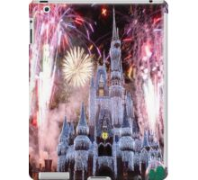Beautiful Ice Castle with Fireworks iPad Case/Skin