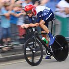 Bradley Wiggins - London 2012 Olympic Gold In TheTime Trial  by Nick  Gill