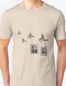Flying Ducks Grandad's Wall T-Shirt