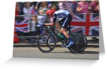 Chris Froome - London 2012, Olympic Time Trial, Bronze Medal by Nick  Gill