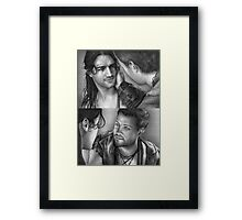 Nagron First Kiss (Spartacus) Framed Print