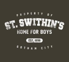 St. Swithin's Home for Boys - worn look by KRDesign