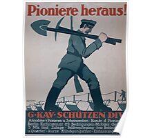 Pioniere heraus! GKavSchützen Div 1373 Poster