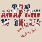 The Crux of Anarchy (UK flag) by Vendetta17