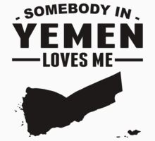 Somebody In Yemen Loves Me One Piece - Short Sleeve