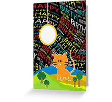 Happy Birthday Greeting Card Greeting Card